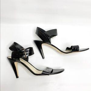 ANTONIO MELANI Black Dress Pump Shoes
